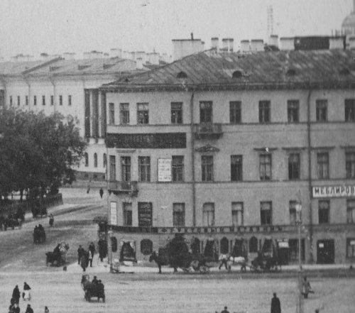 Большая Морская ул., дом 39. Здание гостиницы «Астория» до перестройки. Фото 1890-ых годов.