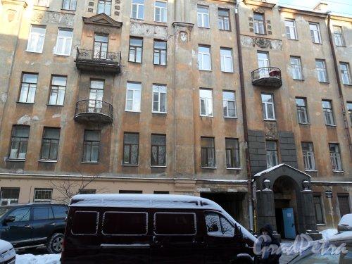 Канонерская улица дом 19-21. Дом Т. М. Любищевой. Фото январь 2013 г.