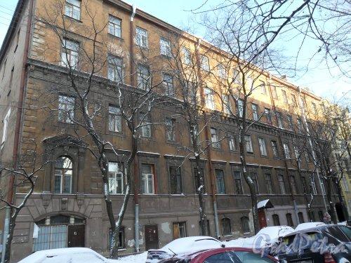 Канонерская улица дом 5. Фото январь 2013 г.