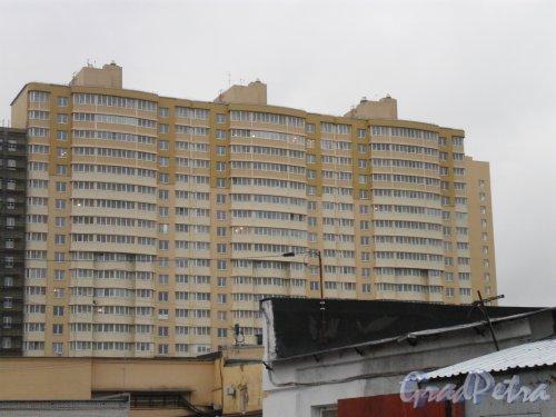 Земледельческая улица, дом 5. ЖК «Фортис». Фото декабрь 2012 г.