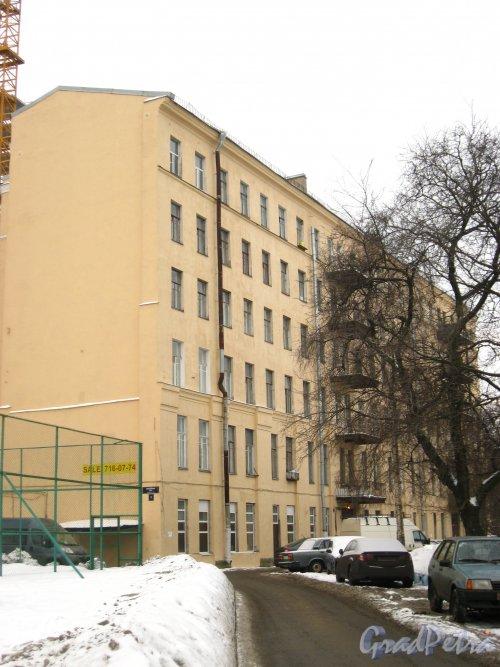 Заозерная ул., дом 3, лит. А. Общий вид жилого дома. Фото январь 2013 г.