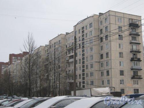 Ул. Киришская, дом 5. Общий вид здания. Фото 30 января 2013 г.