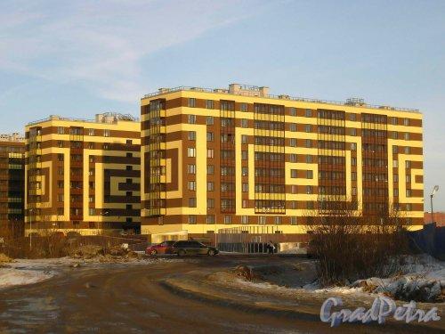 Пос. Кудрово, Центральная ул., дом 54. Квартал «Вена» жилого комплекса «Семь Столиц»
