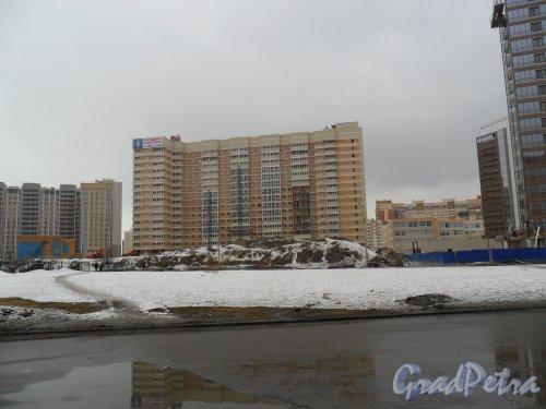 Улица Туристская, дом 20, корпус 1. ЖК «Акварель». Фото 26 марта 2013 г.