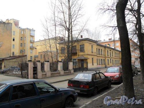Канонерская улица, дом 10. Детский сад №1. Фото апрель 2013 г.