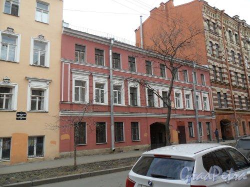 Канонерская улица, дом 29. Фото апрель 2013 г.
