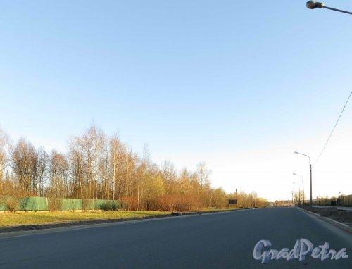 Перспектива Зольной улицы от Большой Яблоновки в сторону Дальневосточного проспекта. Фото 2 мая 2013 г.