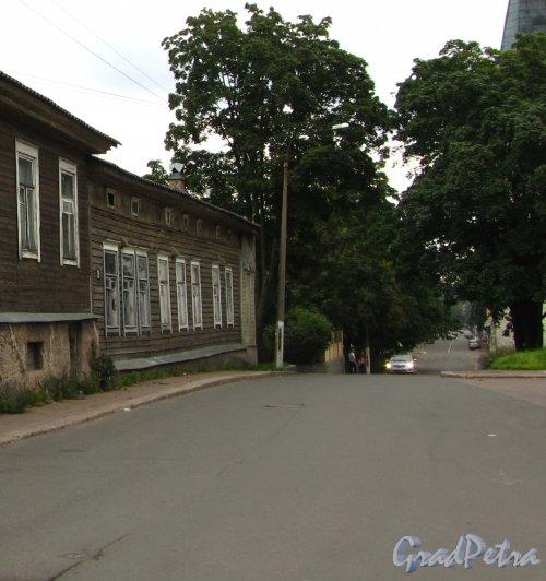 Г. Выборг, Выборгская ул., дом 20. Вид со стороны Красноармейской улицы. Фото 19 августа 2013 г.
