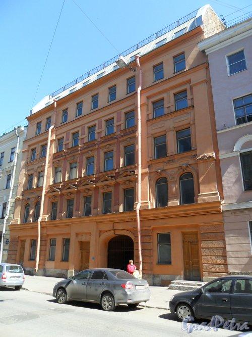 Улица Средняя Подьяческая, дом 14. Фото 16 мая 2013 г.
