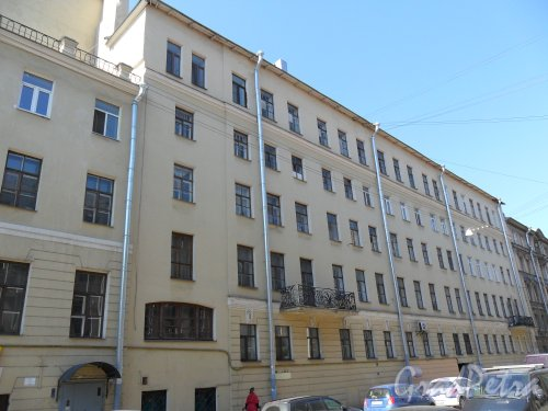 Улица Средняя Подьяческая, дом 15. Фото 16 мая 2013 г.
