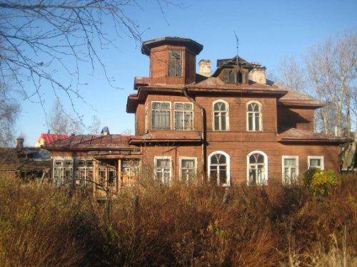 Ул. Сегалева, дом 10. Вид дачи до пожара.