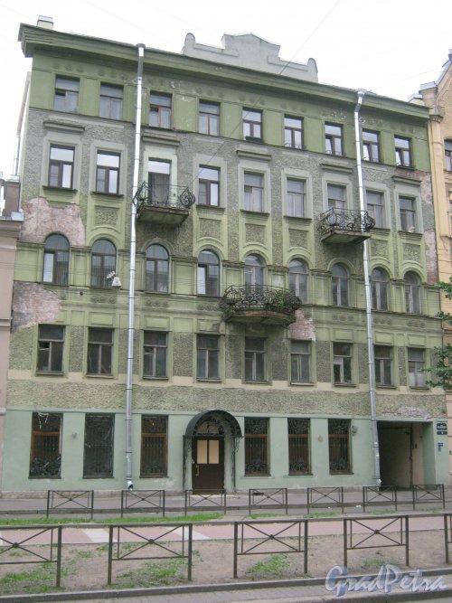 Ул. Черняховского, дом 53. Общий вид со стороны фасада. Фото 14 июня 2013 г.