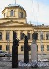 Улица Правды. Памятник разрушенным церквям «Три ангела» ск. Б. Сергеев Фото март 2012 г.