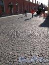 Петропавловская Крепость. Мощение проходов Крепости. Фото май 2012 г.