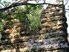 Фронтовая ул. (Стрельна) д. 2. Усадьба А. Ф. Орлова . Башня-руина. Фрагиент фасада. Фото август 2009 г.