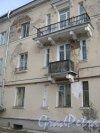 г. Красное Село, Нагорная ул, дом 45. Фрагмент здания со стороны двора. Фото 24 февраля 2014 г.