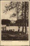 Дача «Вилла Бельмонт» А. Н. Оппенгейма в Шувалове. 1900-е гг. Старая открытка.