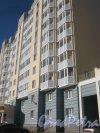 Ул. Маршала Захарова, дом 18, корпус 1, литера А. Фрагмент фасада. Фото 11 марта 2014 г.