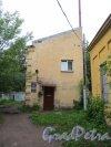 улица Одоевского, дом 23, корпус 2. Брандмауэр здания со стороны улицы Одоевского. Фото 7 июня 2014 года.