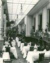 Большая Конюшенная улица, дом 27. Часть Большого зала ресторана «Медведь». Фото начало 1900-х годов.
