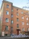Ул. Зои Космодемьянской, дом 12. Фрагмент здания со стороны двора. Фото 26 февраля 2014 г.