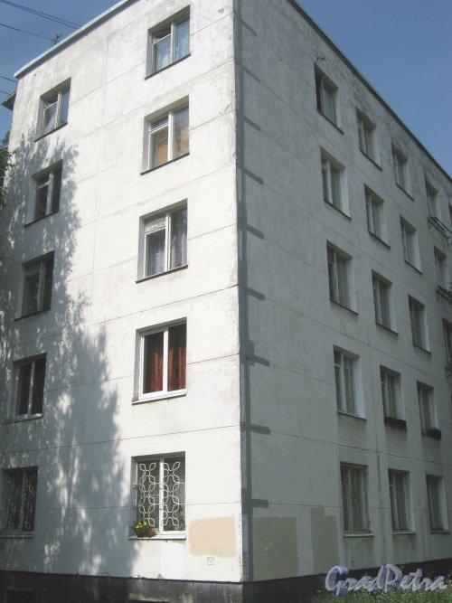 2-Комсомольская ул., дом 39, корпус 1. Общий вид со стороны дома 40, корпус 1. Фото 5 августа 2013 г.