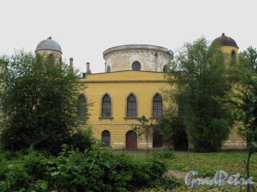 Гастелло ул., д. 15 Чесменский дворец. Вид со стороны ул. Ленсовета. Фото май 2013 г.