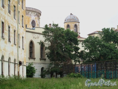 Гастелло ул., д. 15 Чесменский дворец. Задний фасад. Фото май 2013 г.
