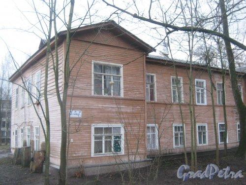 Лен. обл., Гатчинский р-н, г. Гатчина, ул. Урицкого, дом 29. Общий вид здания. Фото 24 ноября 2013 г.