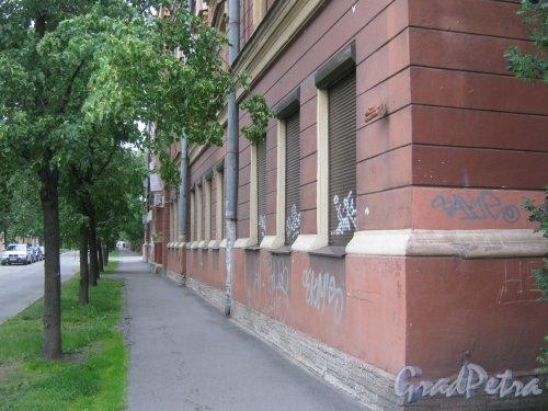 Ул. Черняховского, дом 6. Фрагмент здания. Фото 14 июня 2013 г.