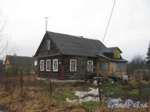 Лен. обл., Гатчинский р-н, пос. Сусанино, ул. 1-го Мая, дом 11. Общий вид дома. Фото 8 января 2014 г.