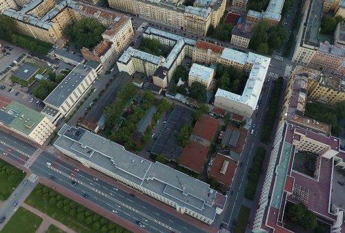 Комплекс построек участка дома 51 по Шпалерной улице. Фото 2010-х гг.