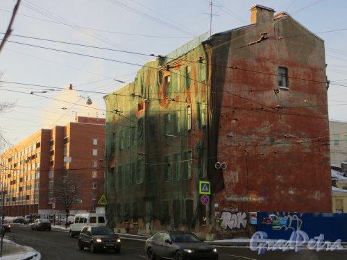 Ул. Мира, дом 36. Общий вид расселенного жилого дома. Фото 24 января 2014 г.
