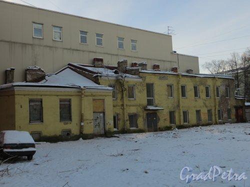 ул. Мира, дом 36. Дворовый флигель. Общий вид. Фото 24 января 2014 года.