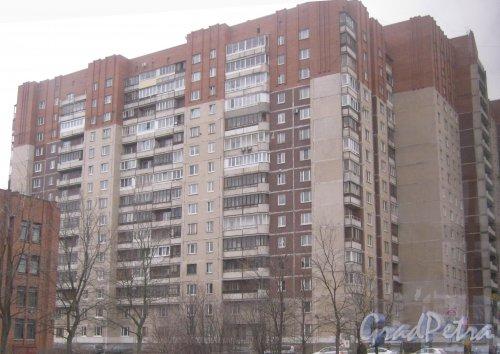 Ул. Звёздная, дом 5, корпус 1. Общий вид здания. Фото 1 марта 2014 г.