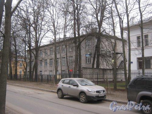 Г. Пушкин, ул. Жуковско-Волынская, дом 8. Вид со стороны дома 3. Фото 1 марта 2014 г.