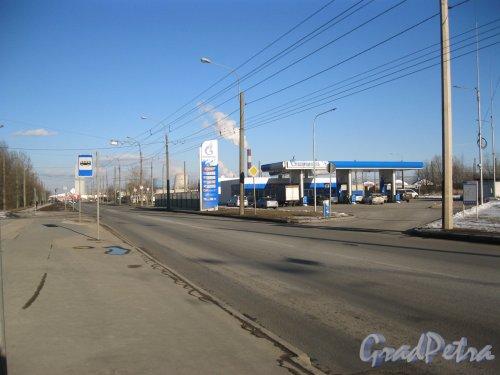 Малая Балканская ул. Перспектива в районе домов 52 в сторону Карпатской ул. Фото 18 марта 2014 г.