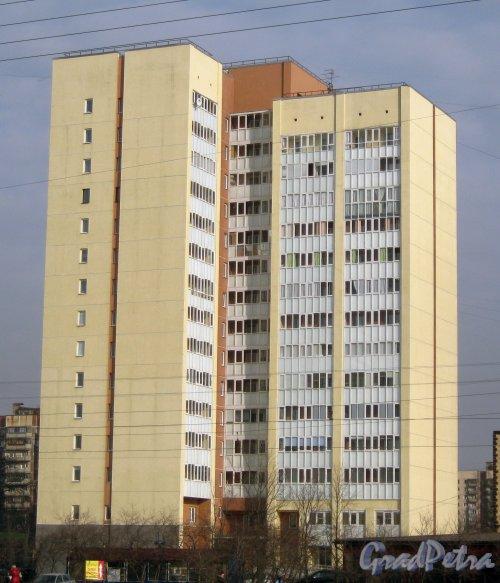 Бухарестская ул., дом 140. Общий вид. Фото 28 февраля 2014 г.