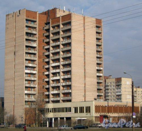 Бухарестская ул., дом 138. Общий вид. Фото 28 февраля 2014 г.