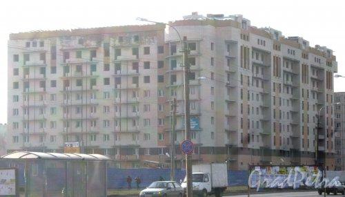 Ул. Олеко Дундича, дом 29. Общий вид с Бухарестской ул. Фото 28 февраля 2014 г.