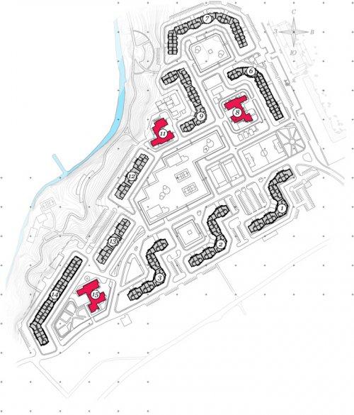 Проект планировки жилого комплекса «Девяткино»