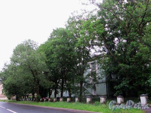 улица Одоевского, дом 10. Общий вид участка. Фото 7 июня 2014 года.