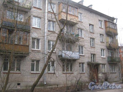 г. Павловск, ул. Васенко, дом 12. Фрагмент фасада. Фото 5 марта 2014 г.