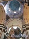 Соборная ул. (Гатчина), д. 26. Собор святого апостола Павла. Вид купольного пространства. Фото апрель 2014 г.
