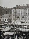 Садовая улица, дом 103 (слева) до перестройки. Фото 28 марта 1914 года.