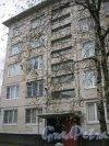Будапештская ул., дом 43, корпус 3. Парадная. Фото 3 ноября 2014 г.
