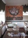 Г. Выборг, ул. Северный Вал, д. 3. Дом купца Йохана Векрута. Кафе «КренделЬ». Интерьер зала. Фото июнь 2014 г.