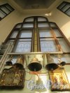 Предпортовая улица, дом 1а. Церковь Святителя Николая чудотворца. Северный придел. Фото 6 марта 2015 года.
