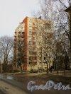 Посёлок Торики, улица Политрука Пасечника, дом 11, корп. 3. Общий вид жилого дома. Фото 6 марта 2015 года.