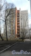 Новороссийская улица, дом 16. Вид дома со двора. Фото 6 марта 2015 года.
